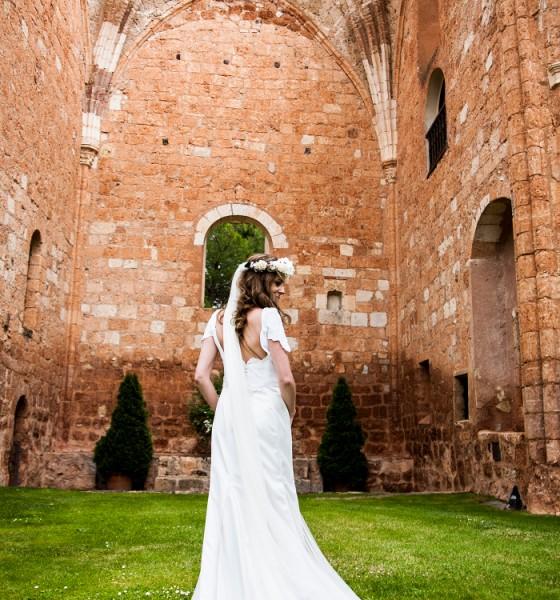 La boda de Carolina en Ayllón